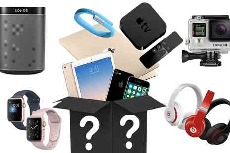Groupon Goods Global GmbH - Mystery Gadget Giftbox with a Chance to Get a Macbook, iPhone 7, Beats, Apple Watch, Gold iPad - Save 0%