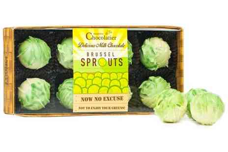 Groupon Goods Global GmbH - One or Two Packs of Eight Martins Chocolatier Truffle Brussel Sprouts - Save 0%