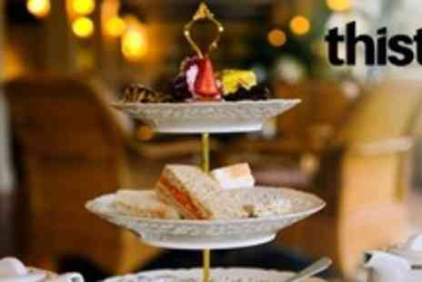 The Thistle - Afternoon Tea With Prosecco For Four in the Cabin Bar - Save 61%