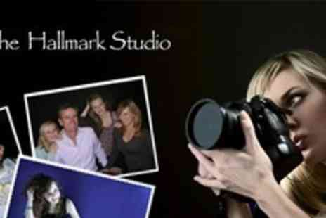 The Hallmark Studio - Studio Photo Shoot With Prints and CD of Images - Save 92%