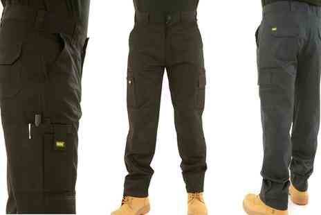 Groupon Goods Global GmbH - Mens MIG Cargo Work Trousers - Save 0%
