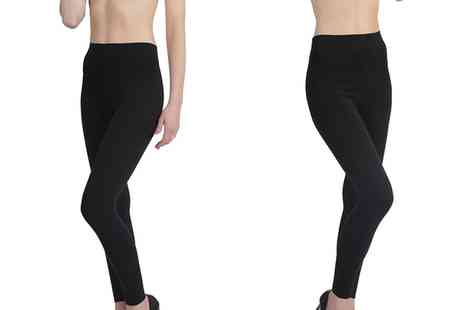 Groupon Goods Global GmbH - Womens Seamless High Waisted Control Leggings Available Up to Size 28 To 30 - Save 0%