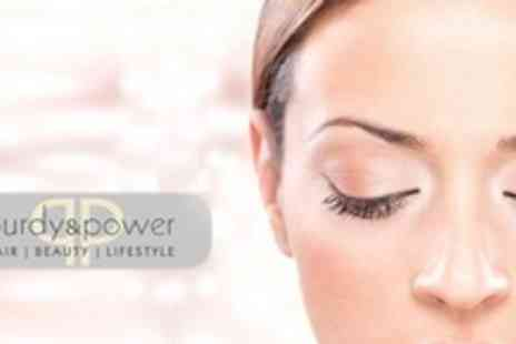Purdy and Power - Set of HD Brows and Semi Permanent Lashes - Save 65%