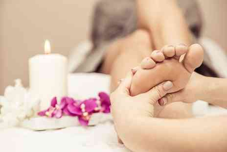 Harmony Health and Beauty House - Reflexology with Head Massage or Ear Candle Therapy - Save 64%