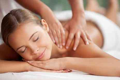 Hamptons Hair and Beauty - 30 Minute Back, Neck and Shoulder or 60 Minute Full Body Massage - Save 36%