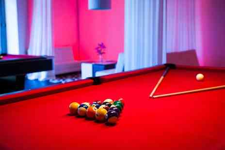 Proud East - Two Hours of Pool with a Burger and Cocktail for Up to Ten - Save 69%