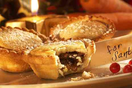 Cloisters Cafe - Two or Four Mince Pies with Two or Four Hot Drinks - Save 0%