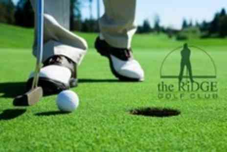 The Ridge Golf Club - Four Golf Lessons With PGA Professional - Save 64%
