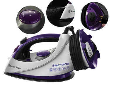 Deals Direct - Russell Hobbs Easy Store Plug & Wind Iron - Save 37%