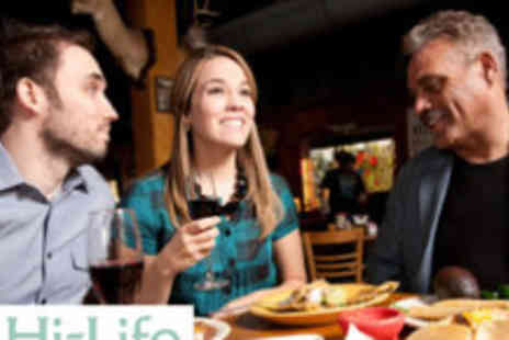 Hi Life Diners Club Card - An exclusive 2 for 1 Dining Treat for a whole year - Save 65%