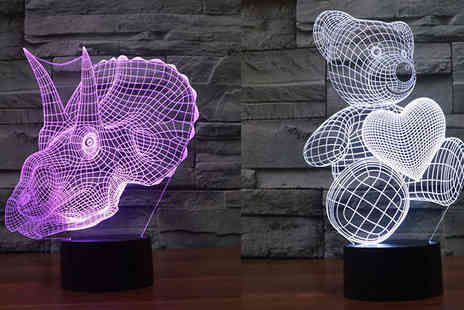 Black Sheep  - Kids 3D LED Lamp - Save 70%