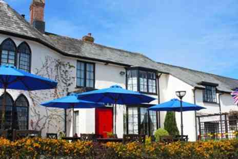 Lifton Hall Hotel - Devon 17th Century Hotel Stay including Meals - Save 54%