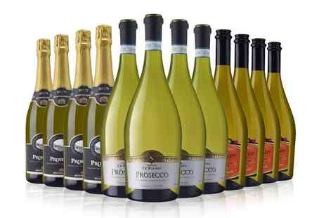 Mixed Prosecco - Six or Twelve Bottles of Mixed Prosecco - Save 0%