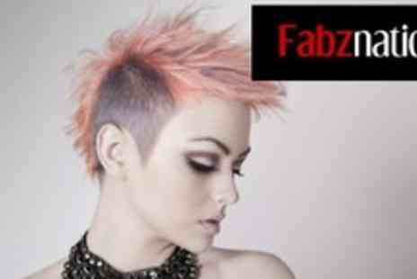 Fabznation - Wash, cut, style and conditioning treatment plus a head and shoulder massage - Save 70%