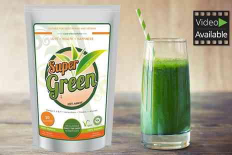 Groupon Goods Global GmbH - 30, 60 or 90 Day Super Green Organic Weight Management Shake Kit - Save 0%