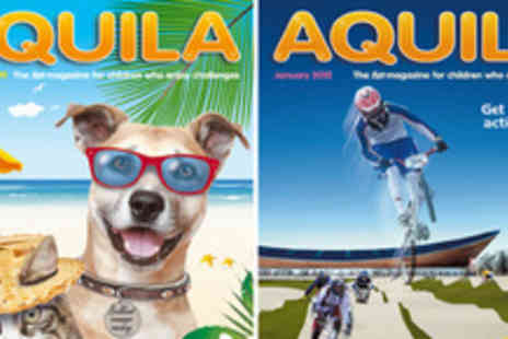 Aquila Magazine - Hallenge & Inspire your Kids with a 6 Month Subscription - Save 40%