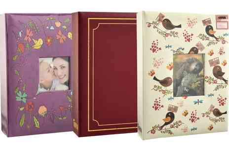 Groupon Goods Global GmbH - Plain or Printed Photo Album in Choice of Design - Save 0%
