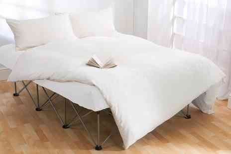 Groupon Goods Global GmbH - Starry Night Inflatable Double Bed with Frame Include Free Delivery - Save 0%