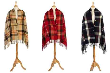 Groupon Goods Global GmbH - Oversized Button Scarf in Choice of Design - Save 83%