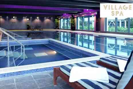 Village Spa - Spa Day with a Choice of Two Treatments for One or Two - Save 47%