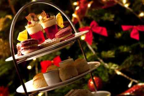 Clayton Hotel Cardiff - Festive Afternoon Tea with Kir Royal for Two or Four - Save 37%