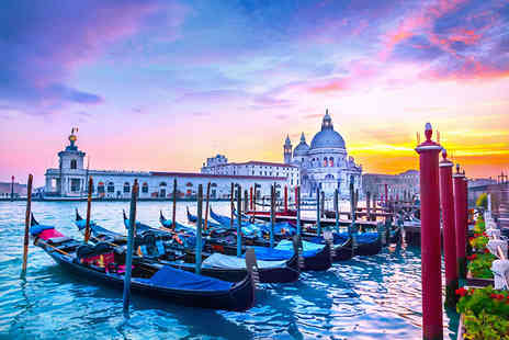 Crystal Travel - Six night Rome, Florence and Venice break including flights and scenic train transfers - Save 38%