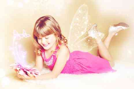 Chique Photography - Childs fairies and elves or angels photoshoot and five prints - Save 0%