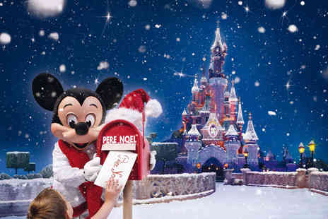 Coach Innovations - Disneyland Enchanted Christmas overnight dash with entrance ticket and return coach - Save 18%