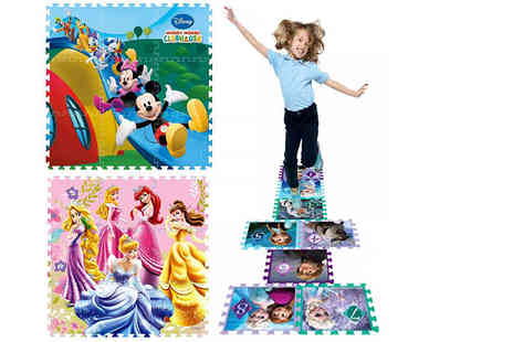 Eurotrade - Disney interlocking play mat choose from six designs - Save 75%