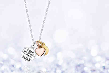 Solo Act - I love you to the moon and back necklace - Save 79%