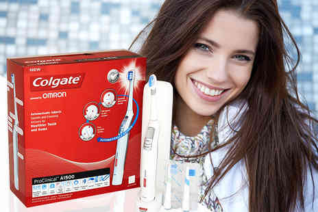 Electrics Warehouse - Colgate ProClinical A1500 electric toothbrush - Save 76%