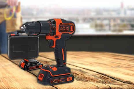 Orion GB - Black & Decker cordless drill - Save 39%