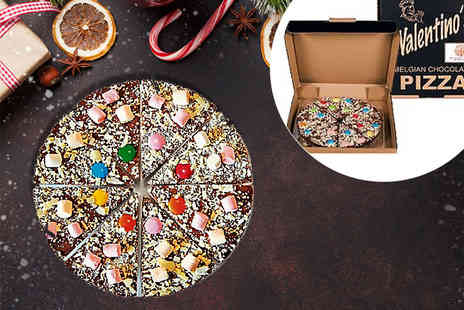 Ultimate Gift Packs - Seven inch Valentino Belgium chocolate pizza - Save 56%