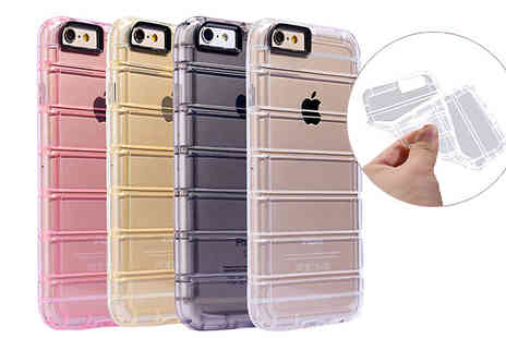 Alegol Technology - Silicone iPhone 7S Ladder Design Case Four Colours - Save 0%
