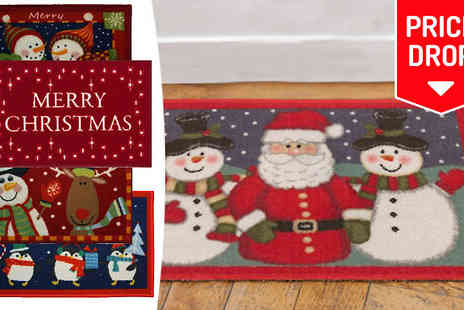 The Rug Shop UK - Christmas Doormat Eight Designs - Save 83%