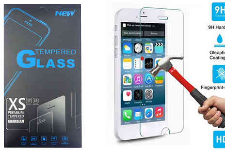Alegol Technology - Premium Tempered Glass Guardian for iPhone 6 Plus, 6s and 6s Plus - Save 67%