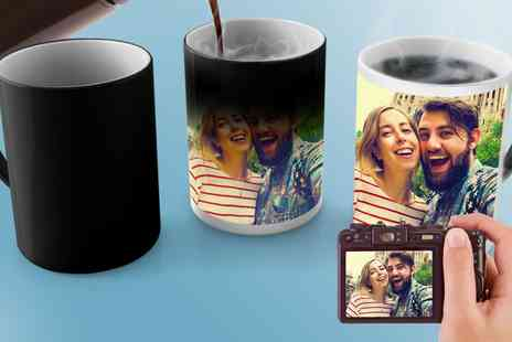 Printerpix - One or Two Personalised Magic Mugs - Save 0%