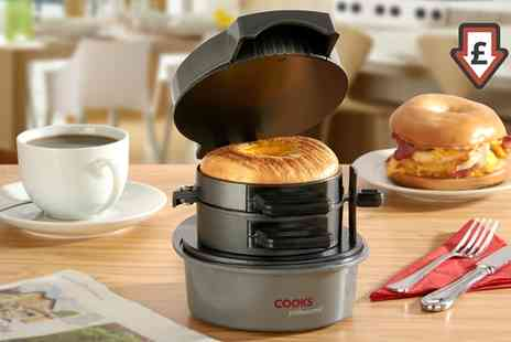 Groupon Goods Global GmbH - Cooks Professional Breakfast Sandwich Maker - Save 0%