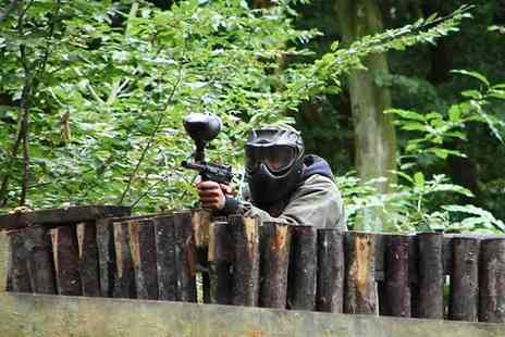Extreme Mayhem - Full Day Paintballing for Five, Ten or 20 Players with 100 Paintballs for Each - Save 82%
