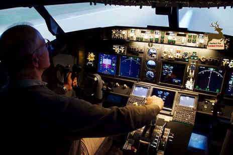 Airavana Flight Simulators - 45 minute flight sim experience for one - Save 22%