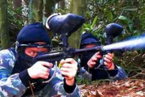 On The Edge Events - Full day of paintballing worth - Save 80%
