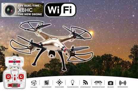 FDS CORPORATION - Syma X8HW quadcopter drone - Save 65%