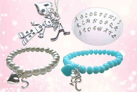 Aye Do - Personalised faux pearl bracelet - Save 50%