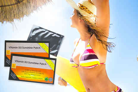 Real Protein - Two month supply of vitamin D patches - Save 83%