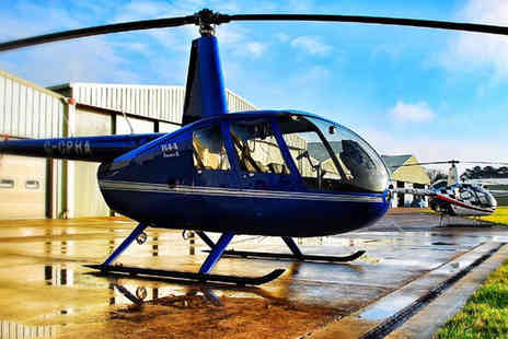 Buyagift - £199 for a tactical helicopter flying lesson - Save 0%