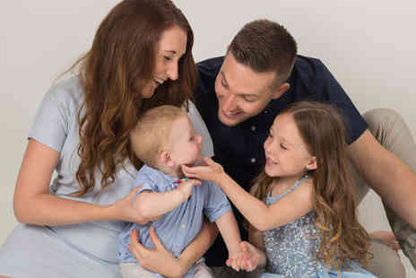 The Fresh Group - Family photoshoot, three prints and £100 worth of vouchers - Save 0%