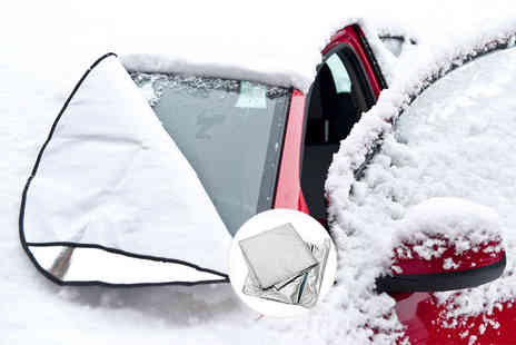 Partikle - Magnetic windscreen cover - Save 83%
