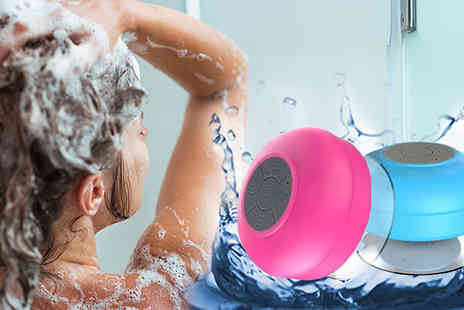 Supreme Direct - Waterproof Mini Bluetooth Shower Speaker - Save 57%