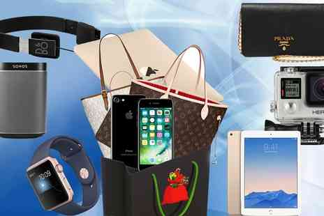 Groupon Goods Global GmbH - Santas Mystery Sack with Chance to Get Gold Macbook, iPhone 7, LV or Prada Bag or Apple Watch - Save 0%