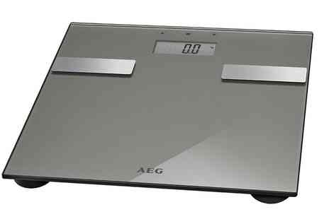 Groupon Goods Global GmbH - AEG Electronic Titan Glass Bathroom Scale - Save 0%